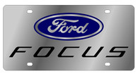 Ford Focus License Plate - 1524N-1