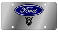 Ford V8 License Plate - 1532-1