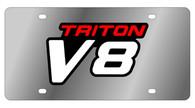 Ford Triton V8 License Plate - 1536-1