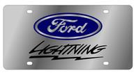 Ford Lightning License Plate - 1540-1