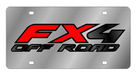 Ford FX4 Offroad License Plate - 1552-1