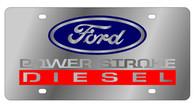Ford Power Stroke Diesel  License Plate- 1577-3