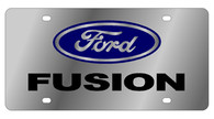 Ford Fusion License Plate - 1586-1