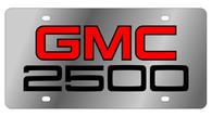 GMC 2500 License Plate - 1602 - 1