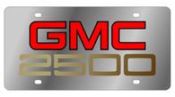 GMC 2500 License Plate - 1602 - 2