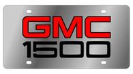 GMC 1500 License Plate - 1603-1