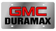GMC Duramax License Plate - 1610-1