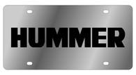 Hummer License Plate - 1621-1