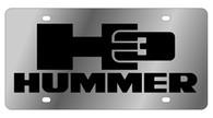 Hummer H3 License Plate - 1626-1