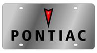 Pontiac License Plate - 1831-1