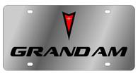 Pontiac Grand Am License Plate - 1832-1