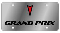 Pontiac Grand Prix License Plate -1833-1