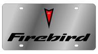 Pontiac Firebird License Plate - 1837-1