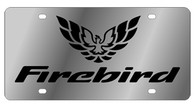 Pontiac Firebird  License Plate - 1847-1