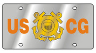 U-S- Coast Guard License Plate - 1923-1