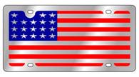 USA Full Flag License Plate - 1925-1
