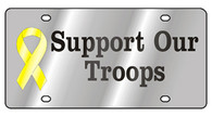 Support Our Troops License Plate- 1926-1