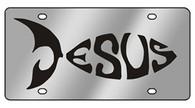 Jesus-Fish License Plate - 1932-1
