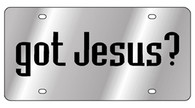 got Jesus License Plate - 1939-1