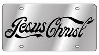 Jesus Christ License Plate - 1940-1