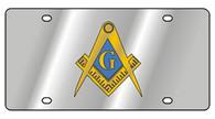 Masonic License Plate - 1951-1