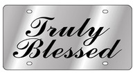 Truly Blessed License Plate - 1964TB-1