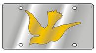 Dove License Plate - 1966-1
