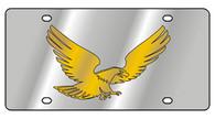 Flying Eagle Novelty License Plate - 1973-1