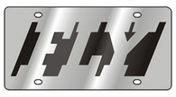 FLY Novelty License Plate - 1974-1