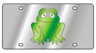 Frog Novelty License Plate -1975-1