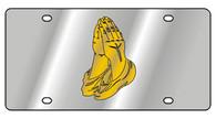 Praying Hands License Plate - 1977-1