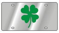Clover Leaf Novelty License Plate - 1984-1