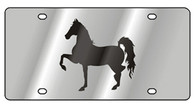 Horse License Plate - 1986-1
