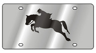 Horse License Plate - 1987-1