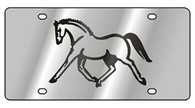 Horse License Plate - 1988-1