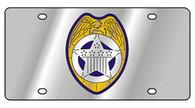 Police Badge License Plate - 1991-1