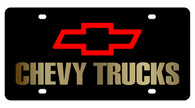 Chevy Trucks License Plate - 2308-2