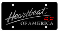Chevrolet Heartbeat of America License Plate - 2311-1
