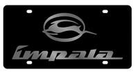 Chevrolet Impala License Plate - 2312-1