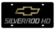 Chevrolet Silverado HD License Plate - 2320-1GB