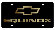 Chevrolet Equinox License Plate - 2327-2GB