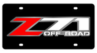 Chevrolet Z-71 Offroad License Plate - 2330-1