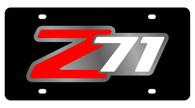 Chevrolet Z-71 License Plate - 2331-1