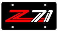 Chevrolet Z-71 License Plate - 2333-1