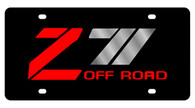 Chevrolet Z-71 Offroad License Plate - 2334-1