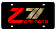 Chevrolet Z-71 Offroad License Plate - 2334-2