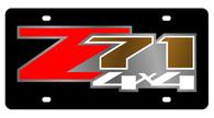 Chevrolet 04 Z71 4x4 License Plate - 2335-1