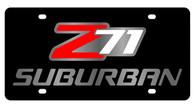 Chevrolet Z71 Suburban License Plate - 2338-1