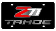 Chevrolet Z71 Tahoe License Plate - 2339-1