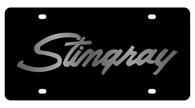 Corvette Stingray License Plate - 2343-1